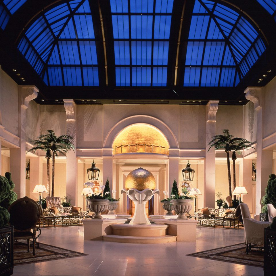 City Lobby Luxury building lighting tourist attraction ballroom mansion colonnade