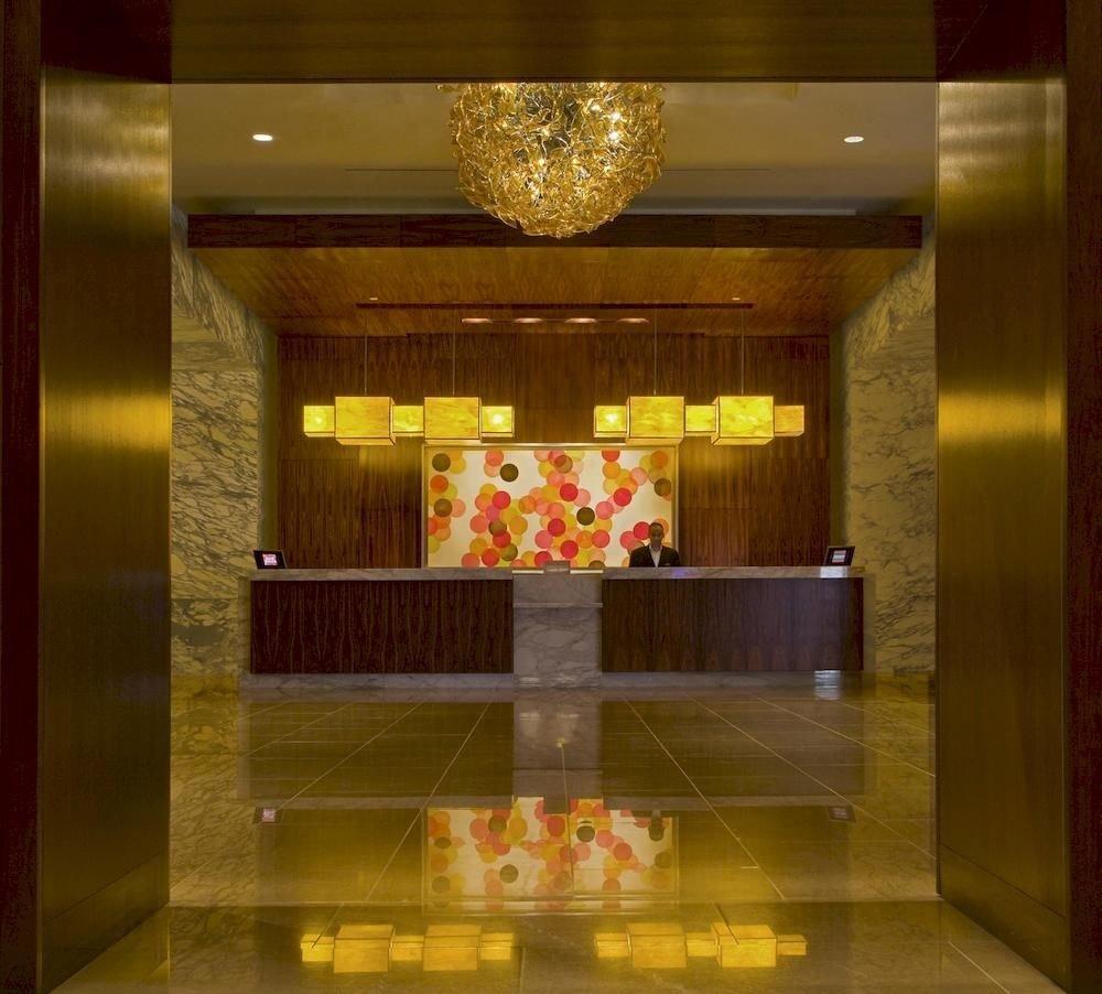 City Lobby Modern stage function hall ballroom