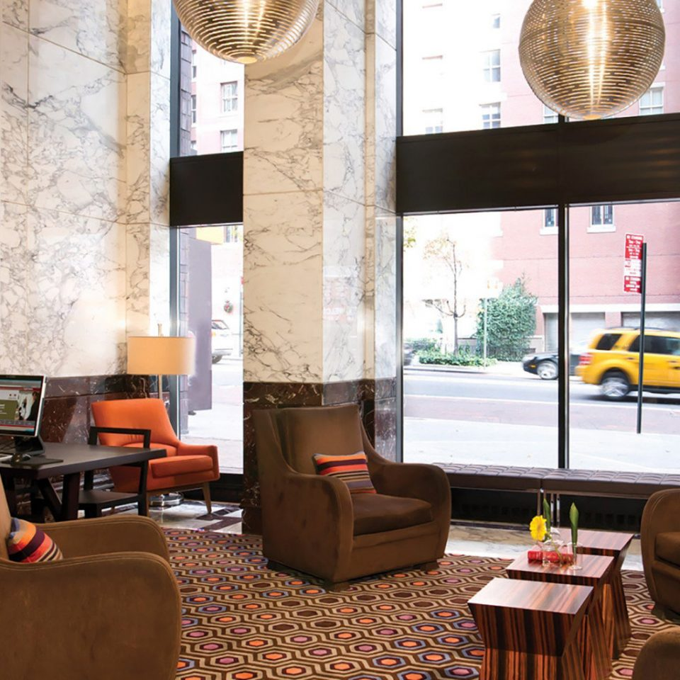 City Lobby Modern color living room home restaurant