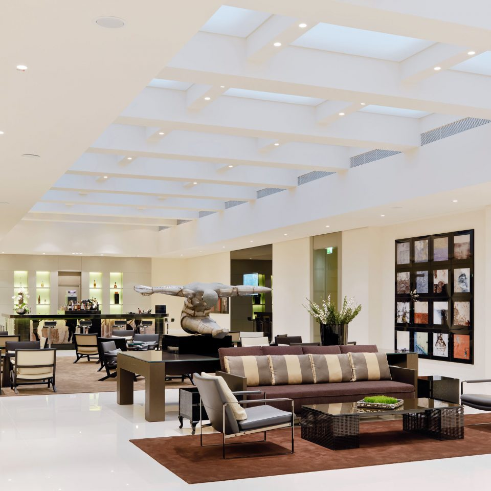 City Lobby Modern property living room condominium daylighting home lighting