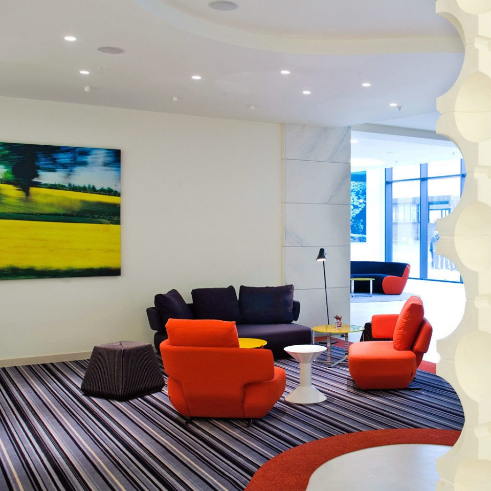 City Lobby Modern property living room waiting room condominium