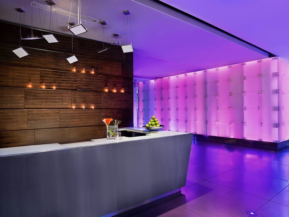 City Lobby Modern lighting swimming pool counter nightclub