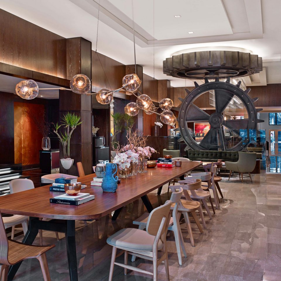 City Lobby Modern property restaurant home dining table