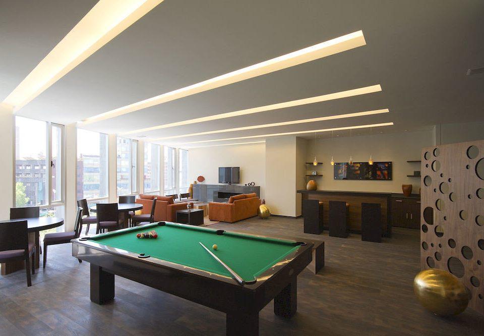 City Lounge recreation room billiard room property poolroom pool table scene living room basement