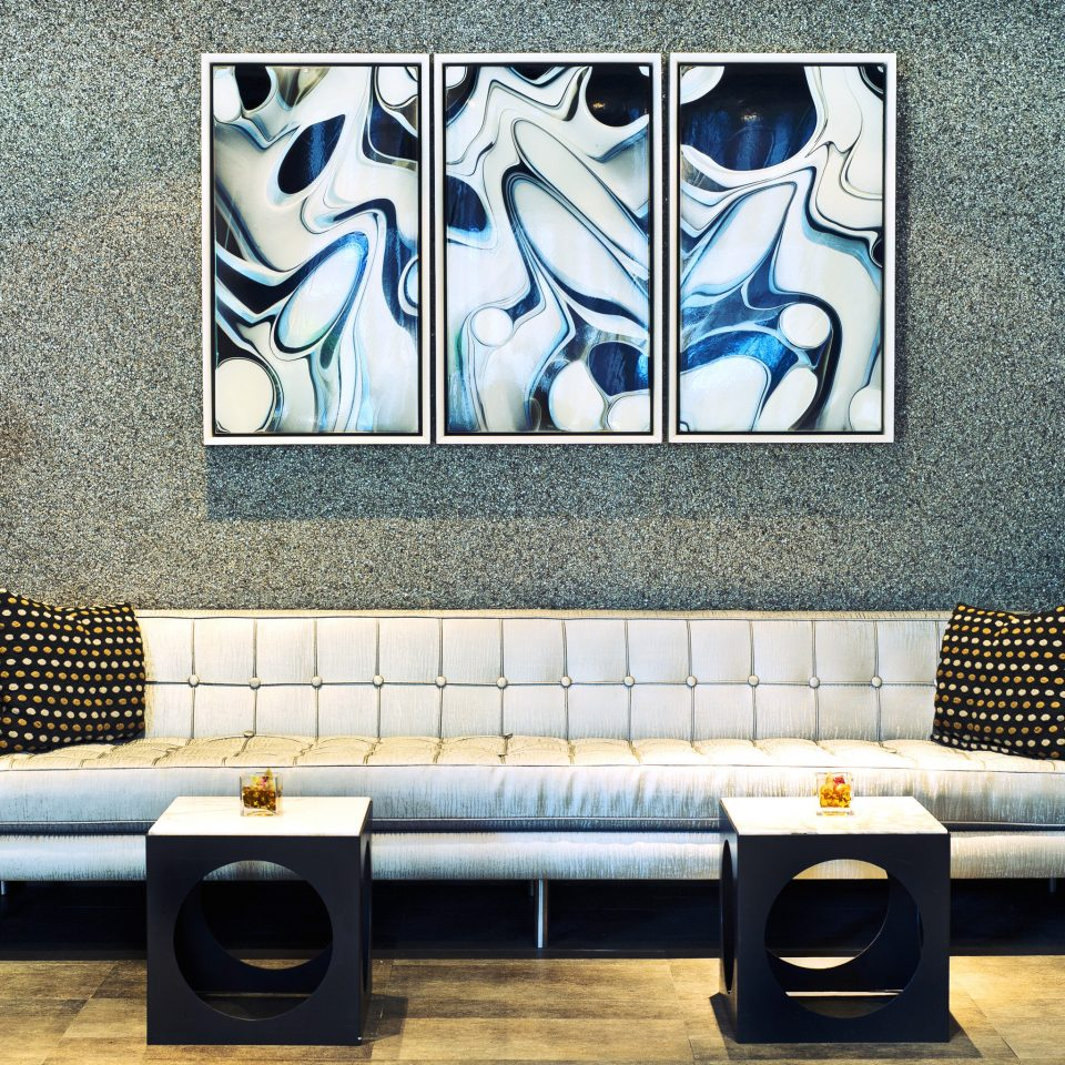 City Lounge Modern modern art art living room wallpaper mural