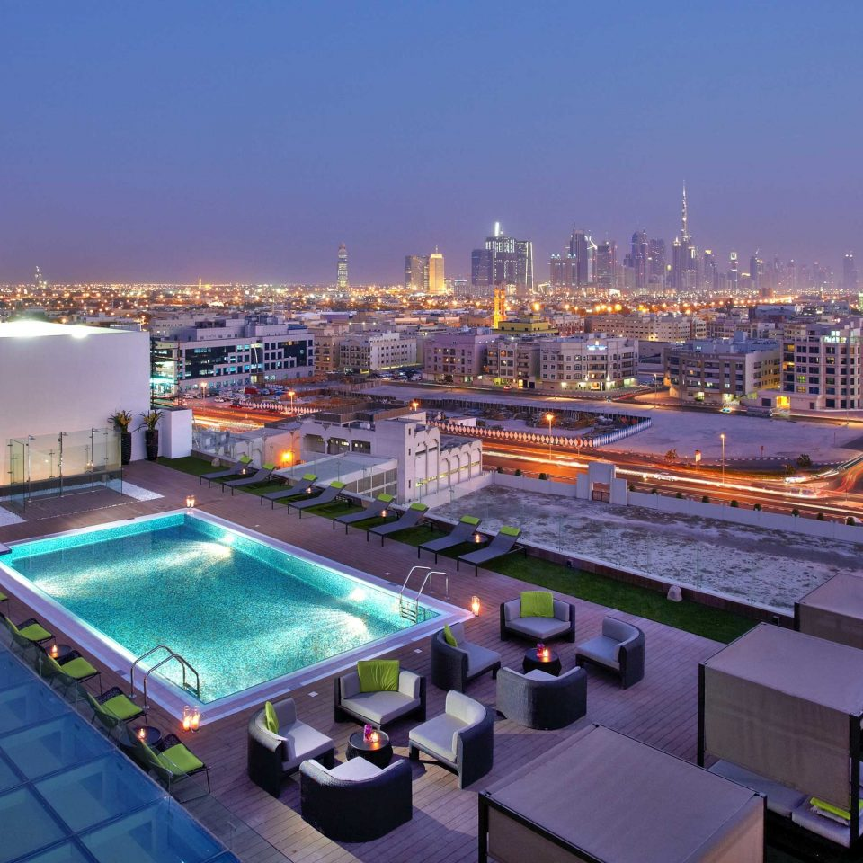 City Lounge Pool Scenic views sky vehicle marina cityscape convention center
