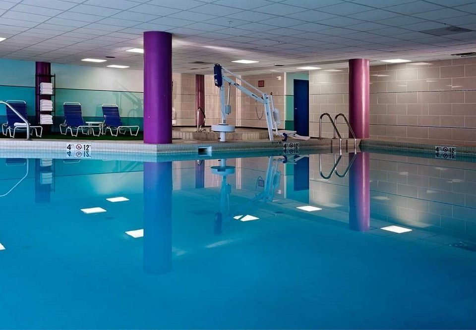 City Modern Pool swimming pool leisure property leisure centre blue sport venue light