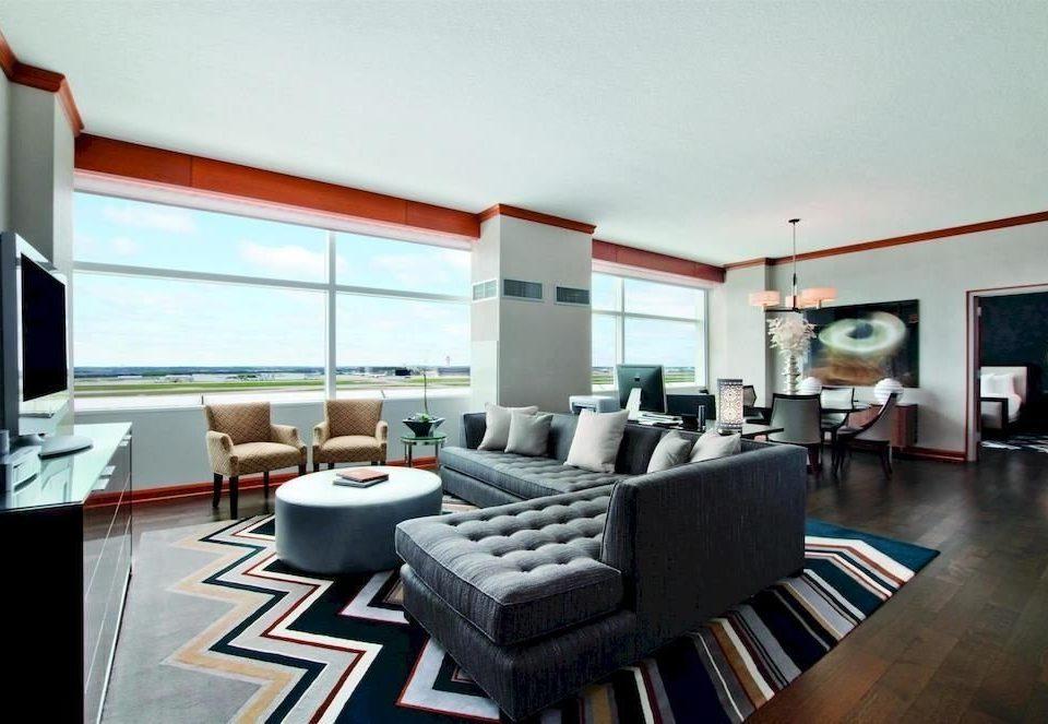 City Modern Suite property living room condominium home loft