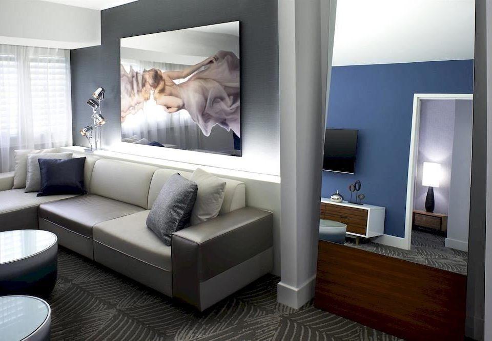 City Modern Suite living room property home condominium
