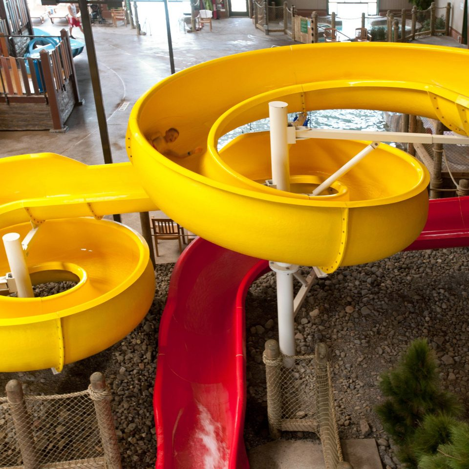 public space Playground City chair yellow outdoor play equipment Play wheel outdoor recreation playground slide