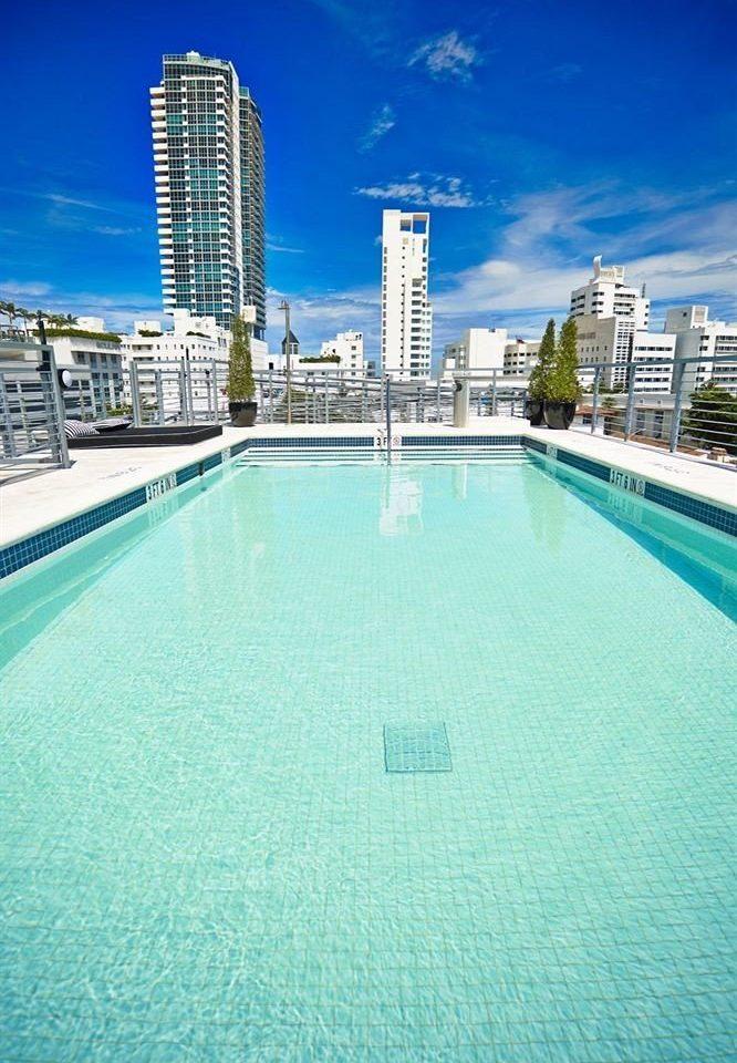 sky water swimming pool property marina condominium dock City Sea Pool blue Resort day