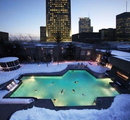 sky swimming pool City condominium Resort