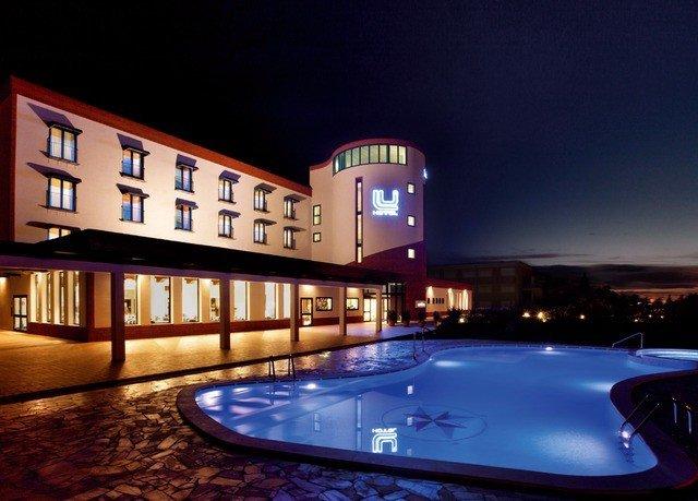 swimming pool night Resort City light