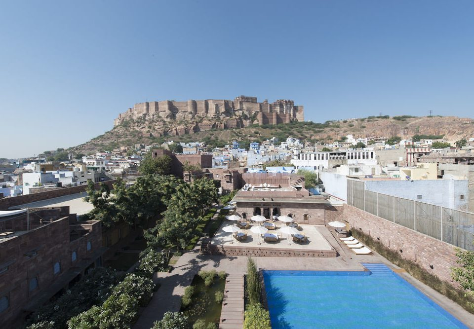 sky property Town City Resort palace Villa swimming pool traveling