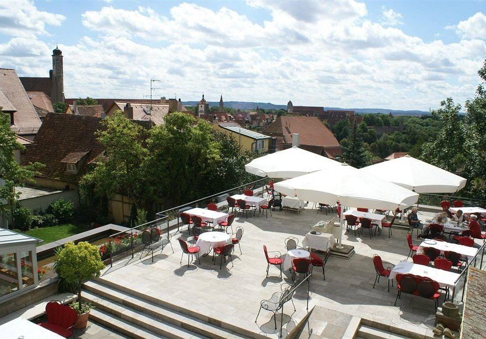 sky Town City Village market restaurant Resort