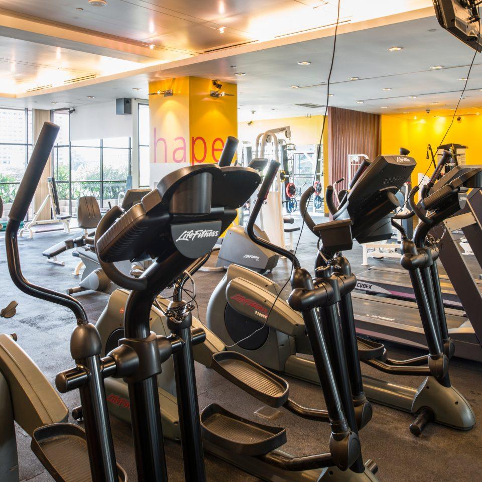 City Resort Tropical Wellness structure chair gym sport venue