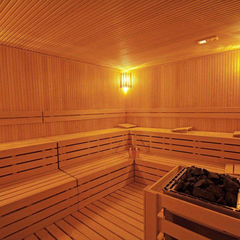 City Spa man made object sauna night