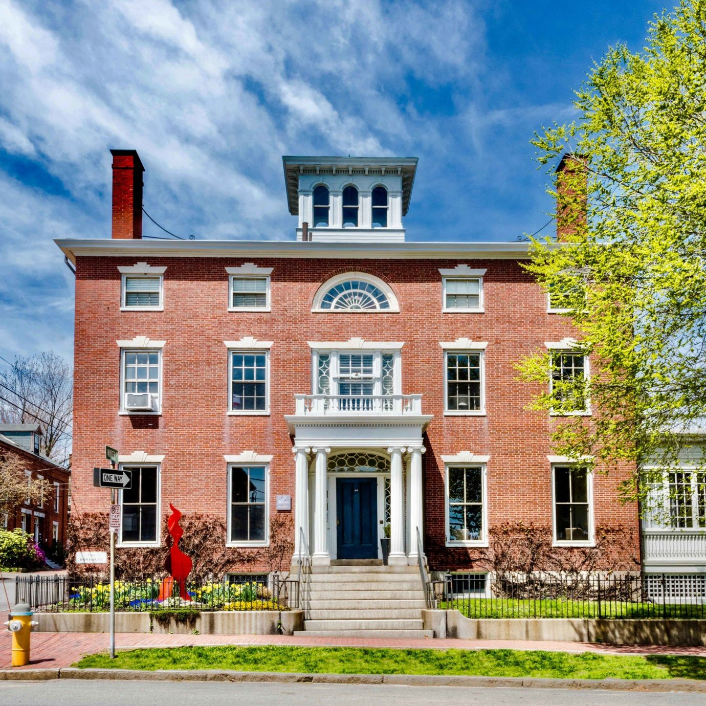 Trip Ideas building sky home property house landmark mansion Town neighbourhood residential area mixed use historic house City college tree cottage suburb condominium campus north american fraternity and sorority housing elevation