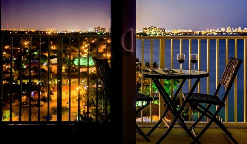 sky night evening cityscape