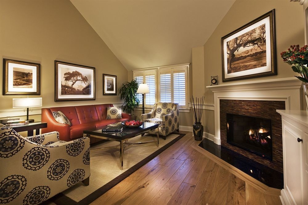 Classic Country Fireplace Lounge Romantic living room property home hardwood cottage wood flooring