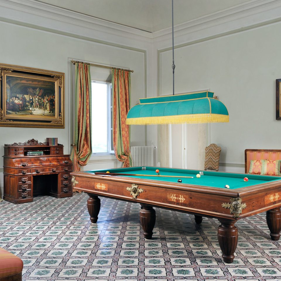 Classic Country Historic Honeymoon Lounge Romance recreation room billiard room property green hardwood living room Villa billiard table mansion cottage