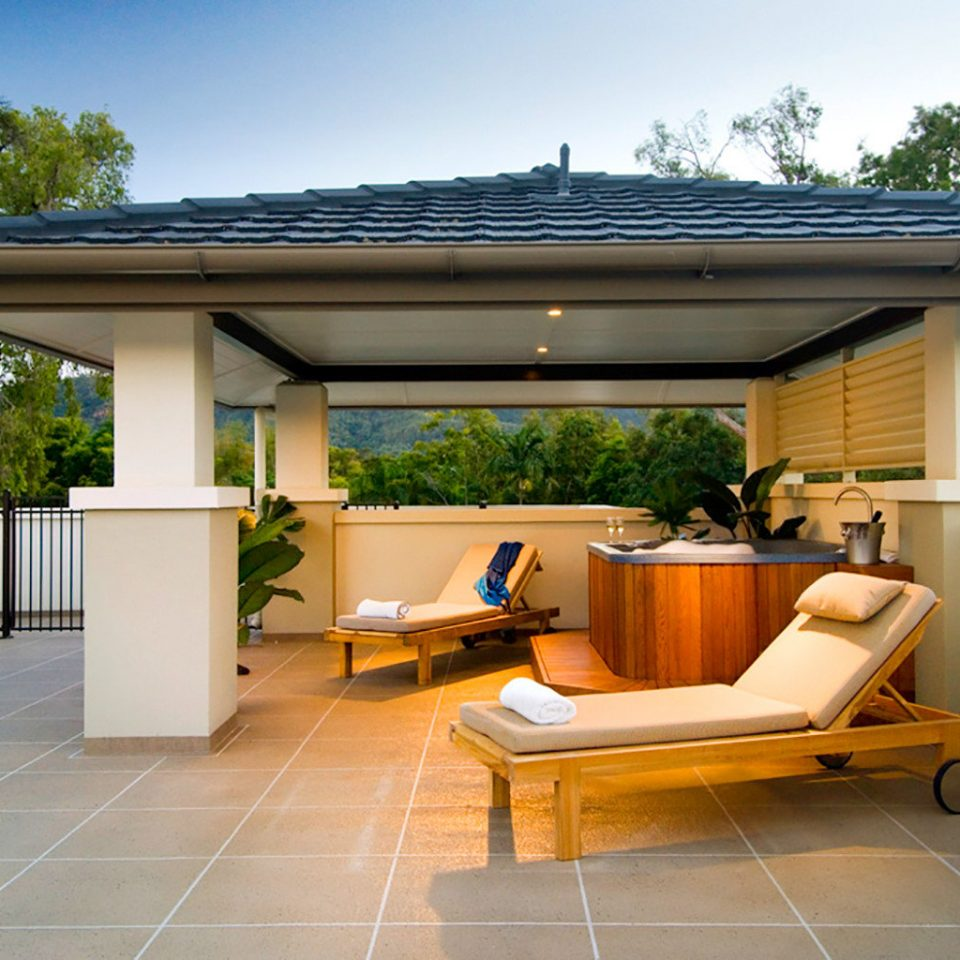 Classic Lounge Outdoors Resort building property home house outdoor structure Patio pergola backyard Villa condominium Deck