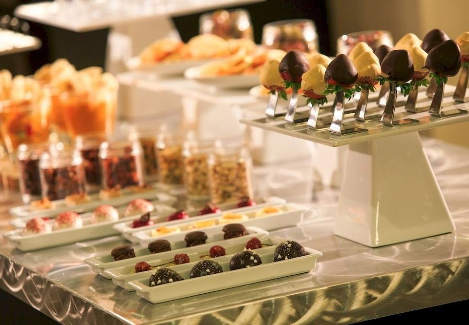Classic Dining Drink Eat Resort cake pastry food buffet brunch banquet function hall tray sense centrepiece baked