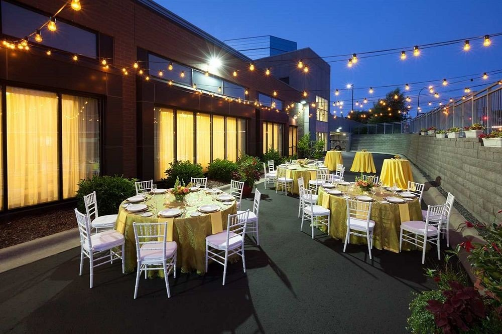 Classic Dining Family Rooftop function hall banquet restaurant convention center aisle ballroom