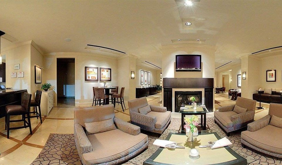 Classic Dining Fireplace sofa property living room condominium Lobby Suite home mansion Villa