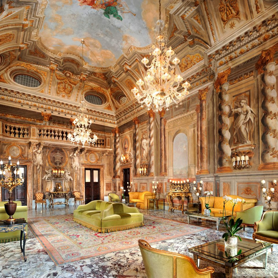 Classic Elegant Historic Italy Lobby Lounge Luxury Romance Romantic Trip Ideas building palace ballroom ancient history place of worship synagogue altar