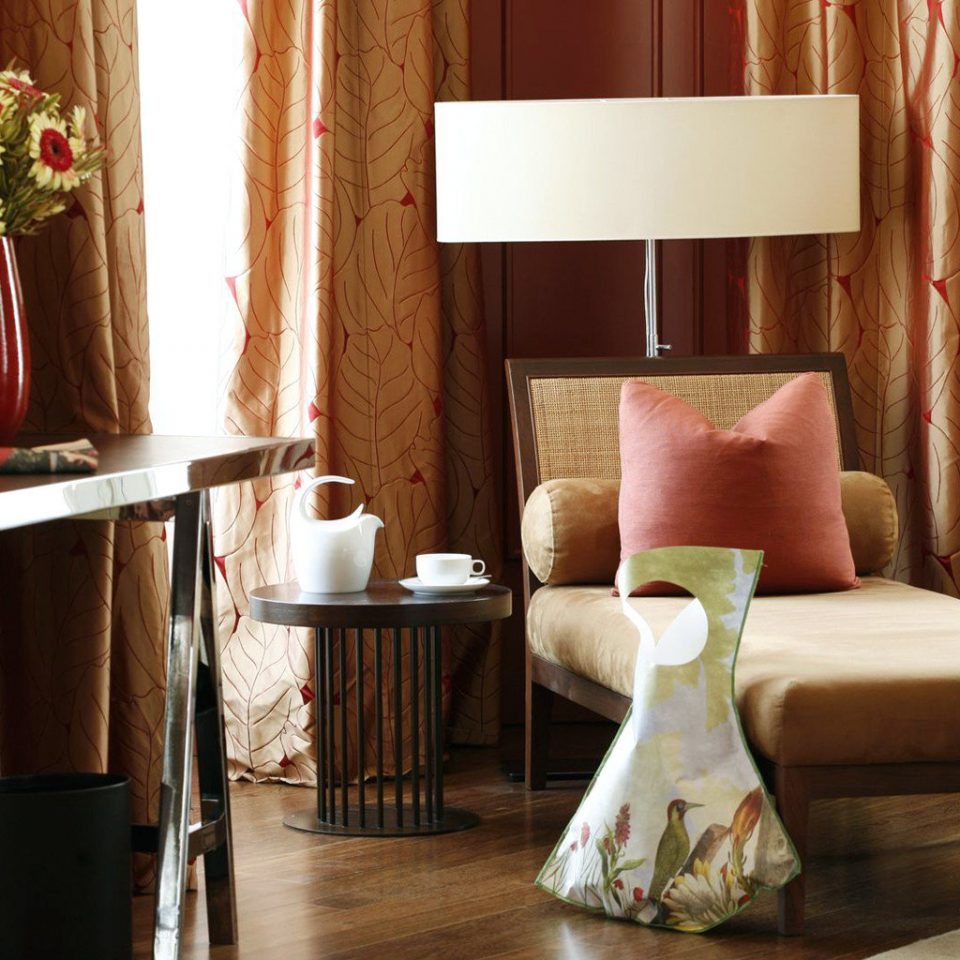 Classic Elegant Modern red living room Suite home curtain textile cottage