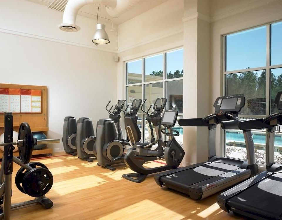 Classic Family Fitness structure property sport venue gym condominium muscle cluttered