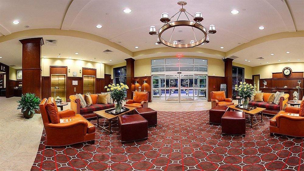 Classic Family Lobby property function hall living room orange recreation room