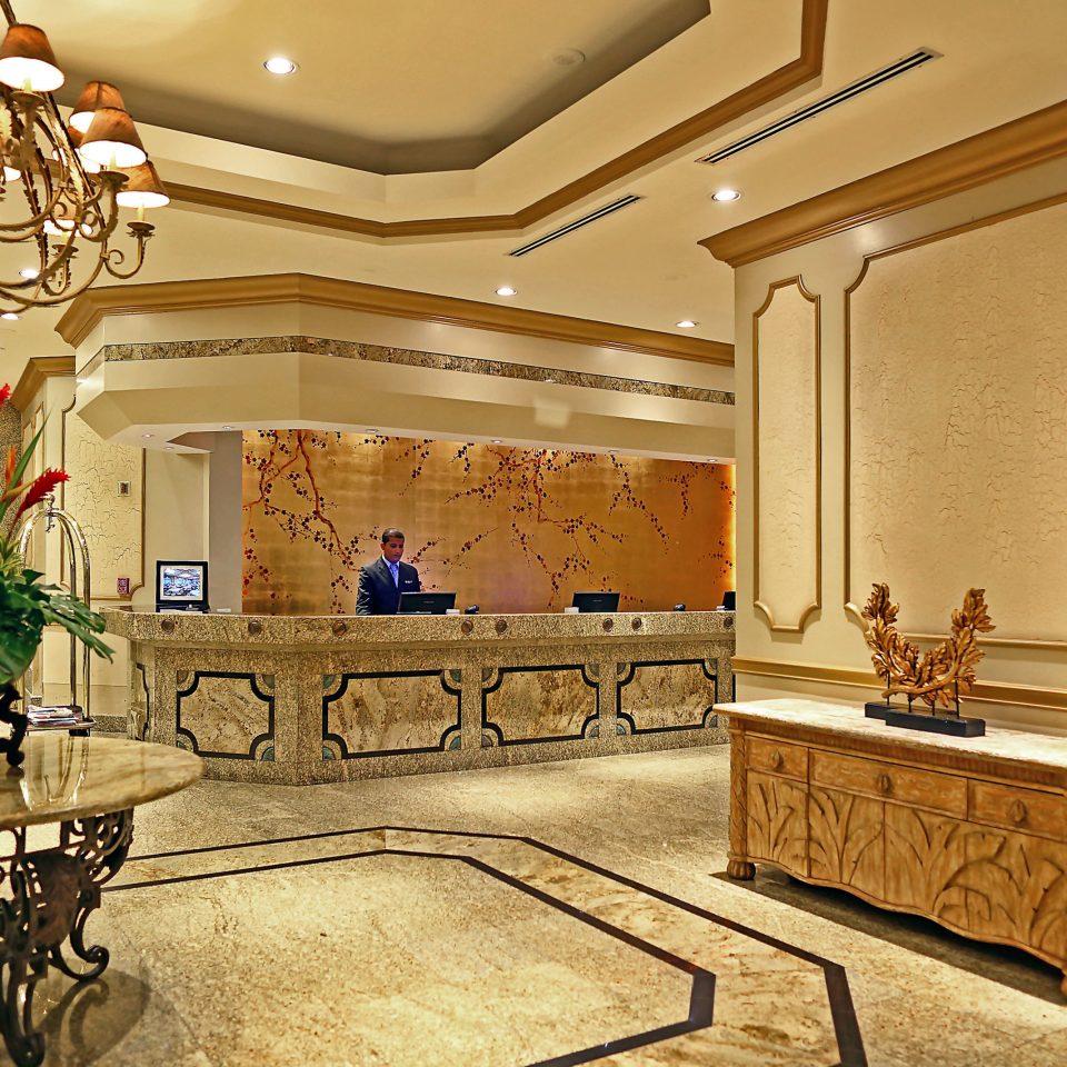 Classic Family Lobby Lounge Resort property mansion home lighting living room palace ballroom flooring