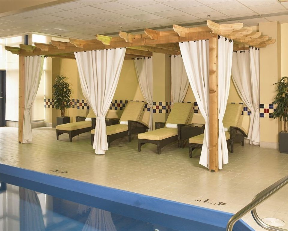 Classic Family Pool structure curtain function hall conference hall