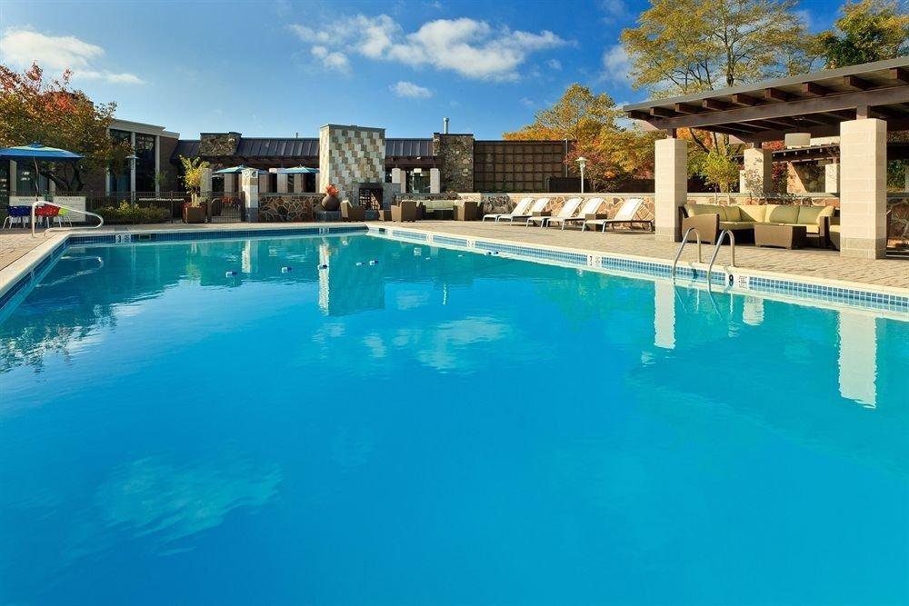 Classic Family Pool sky building water Resort swimming pool property leisure water sport Villa resort town condominium blue swimming