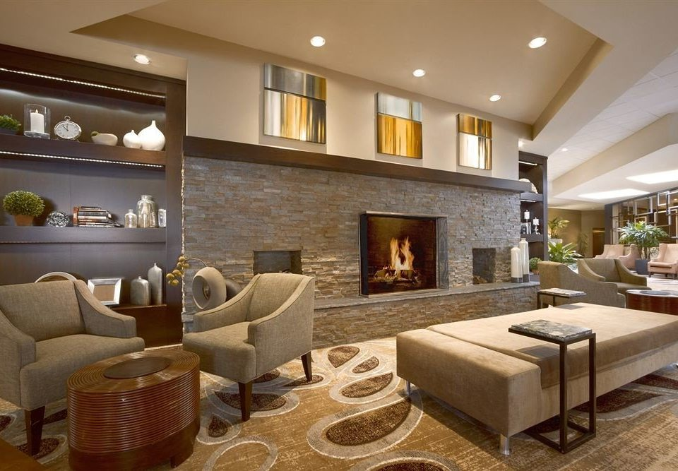 Classic Fireplace Lobby living room property home hardwood condominium wood flooring Suite