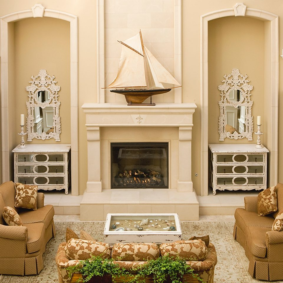 Classic Lounge Luxury living room Fireplace home hardwood hearth cabinetry cottage molding stone