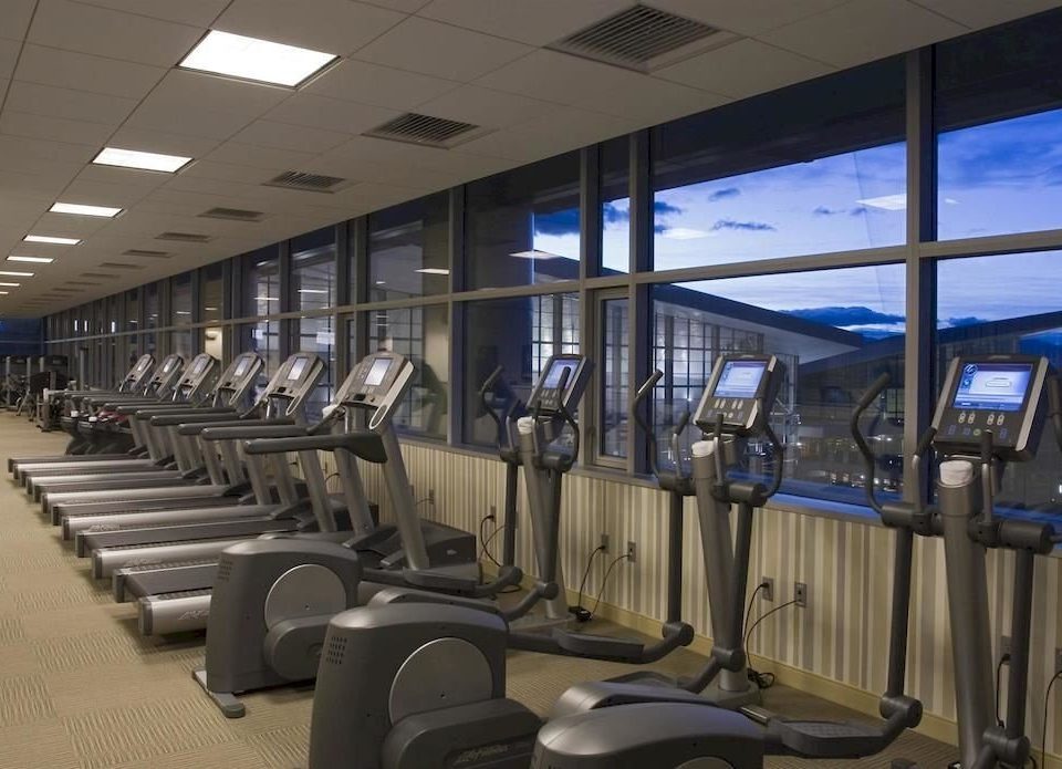 Classic Fitness Resort Wellness structure sport venue gym airport passenger public transport convention center lined