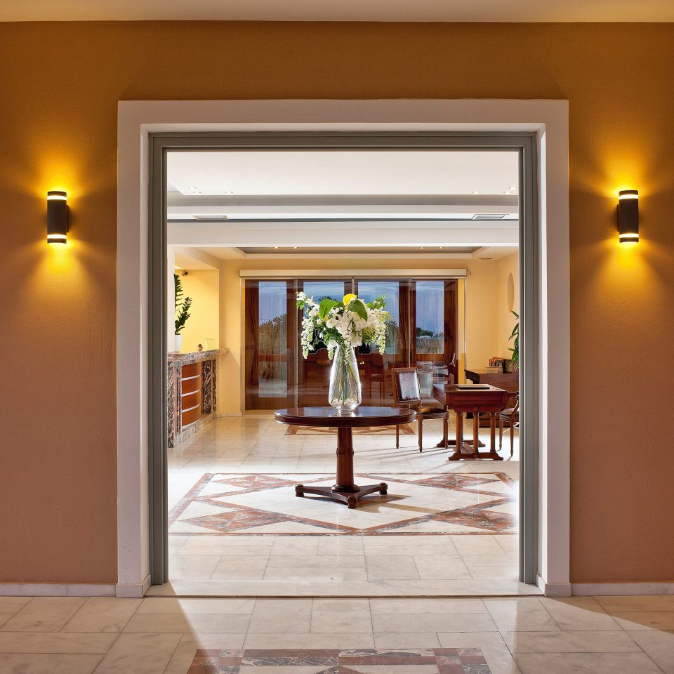 Classic Island Lobby Romantic property building home house lighting door living room hall