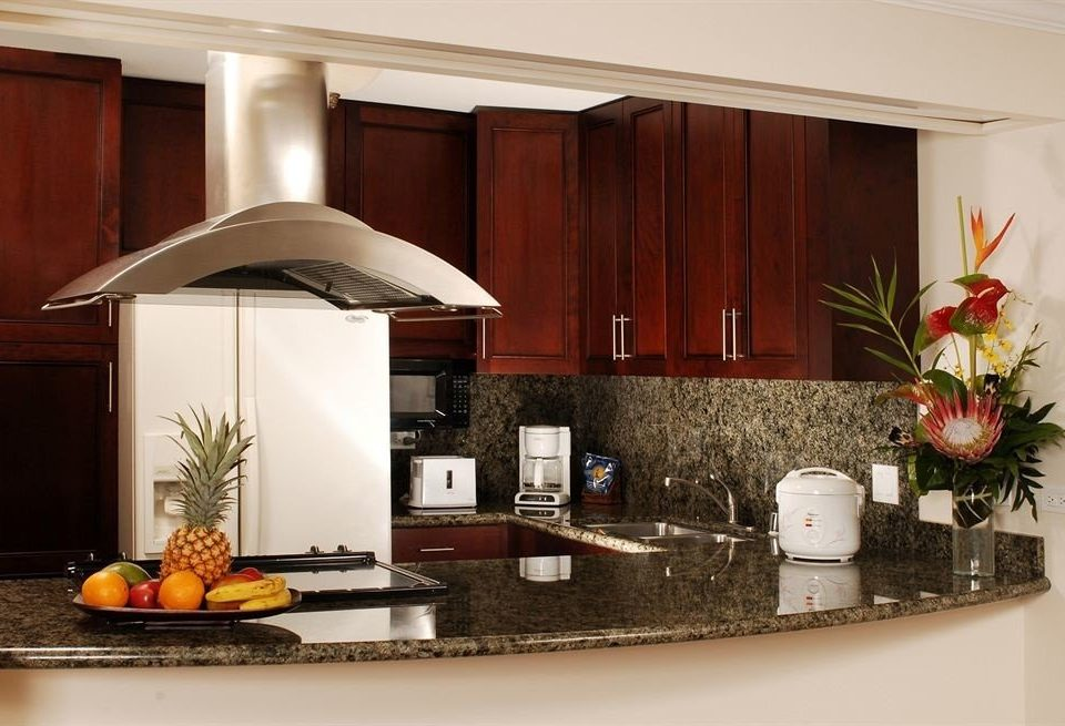 Classic Kitchen Resort property home house living room cabinetry counter countertop appliance