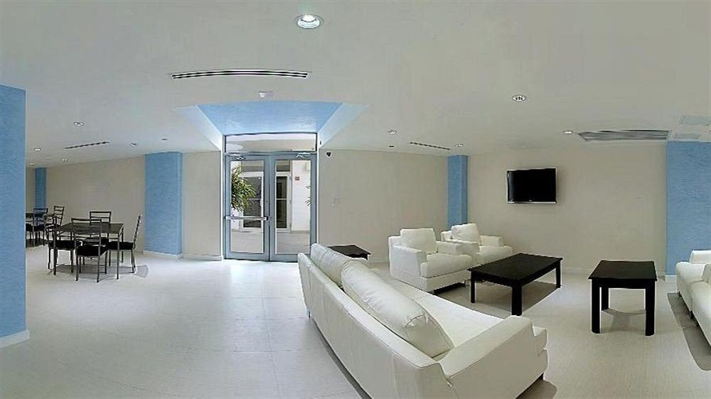 Classic Lobby property building white condominium waiting room living room