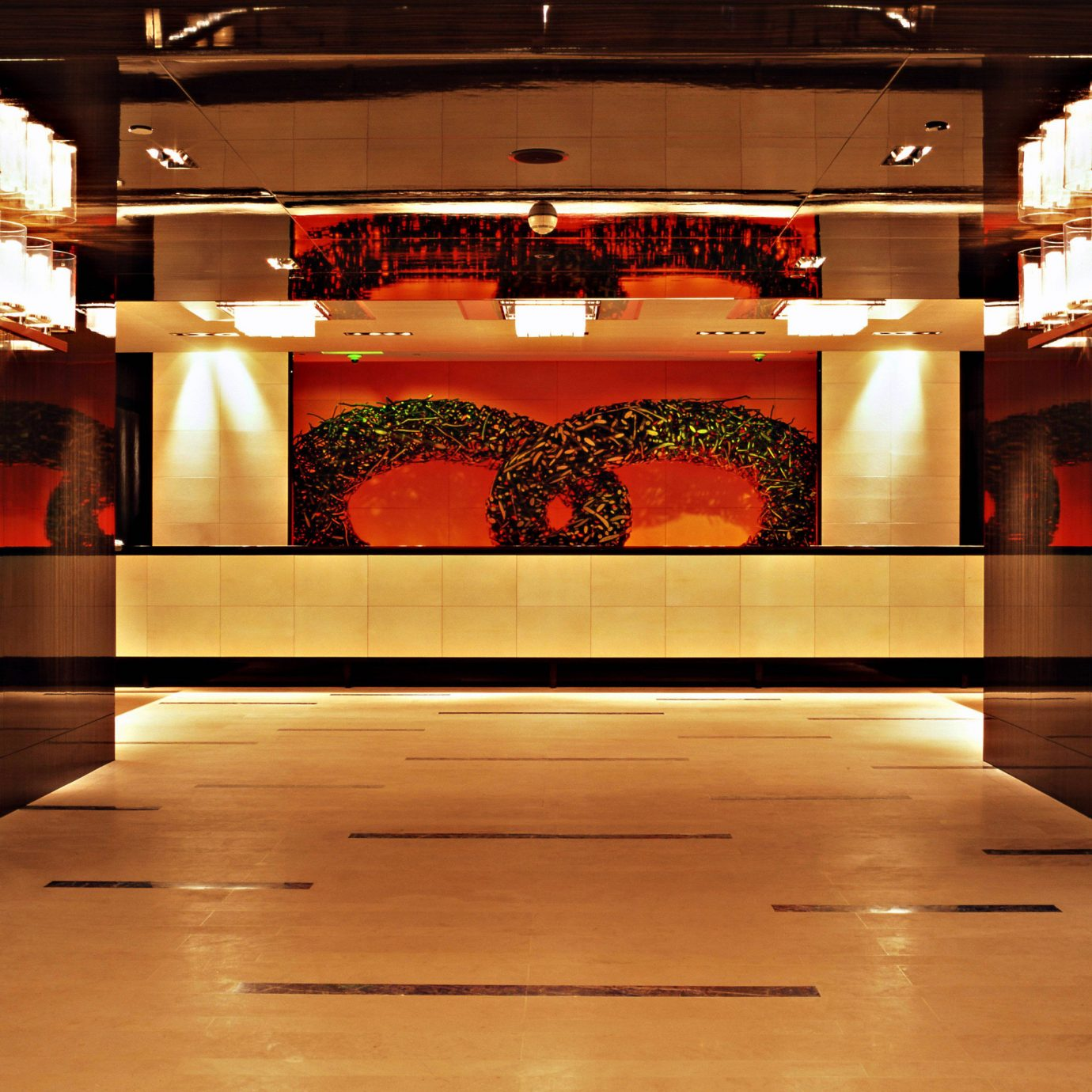 Classic Lobby building lighting stage flooring