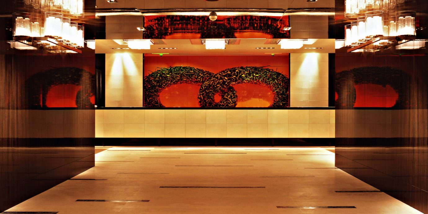 Classic Lobby building lighting stage flooring