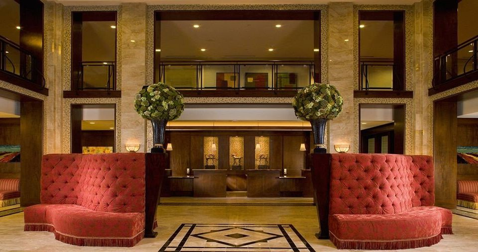 Classic Lobby building red living room mansion home palace
