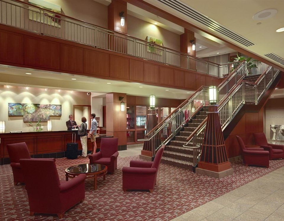 Classic Lobby property red living room restaurant