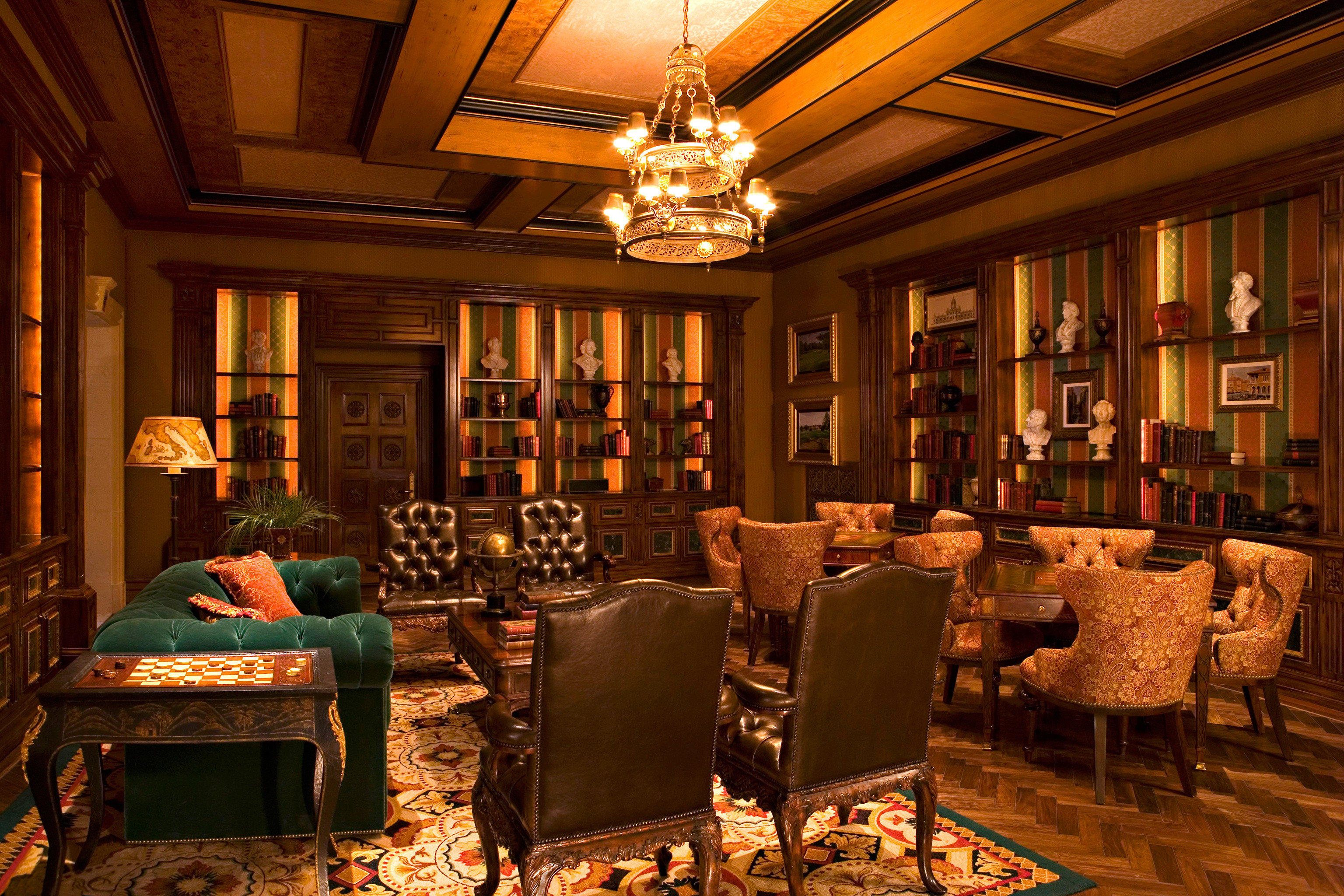 Classic Lounge Luxury living room Lobby home mansion palace