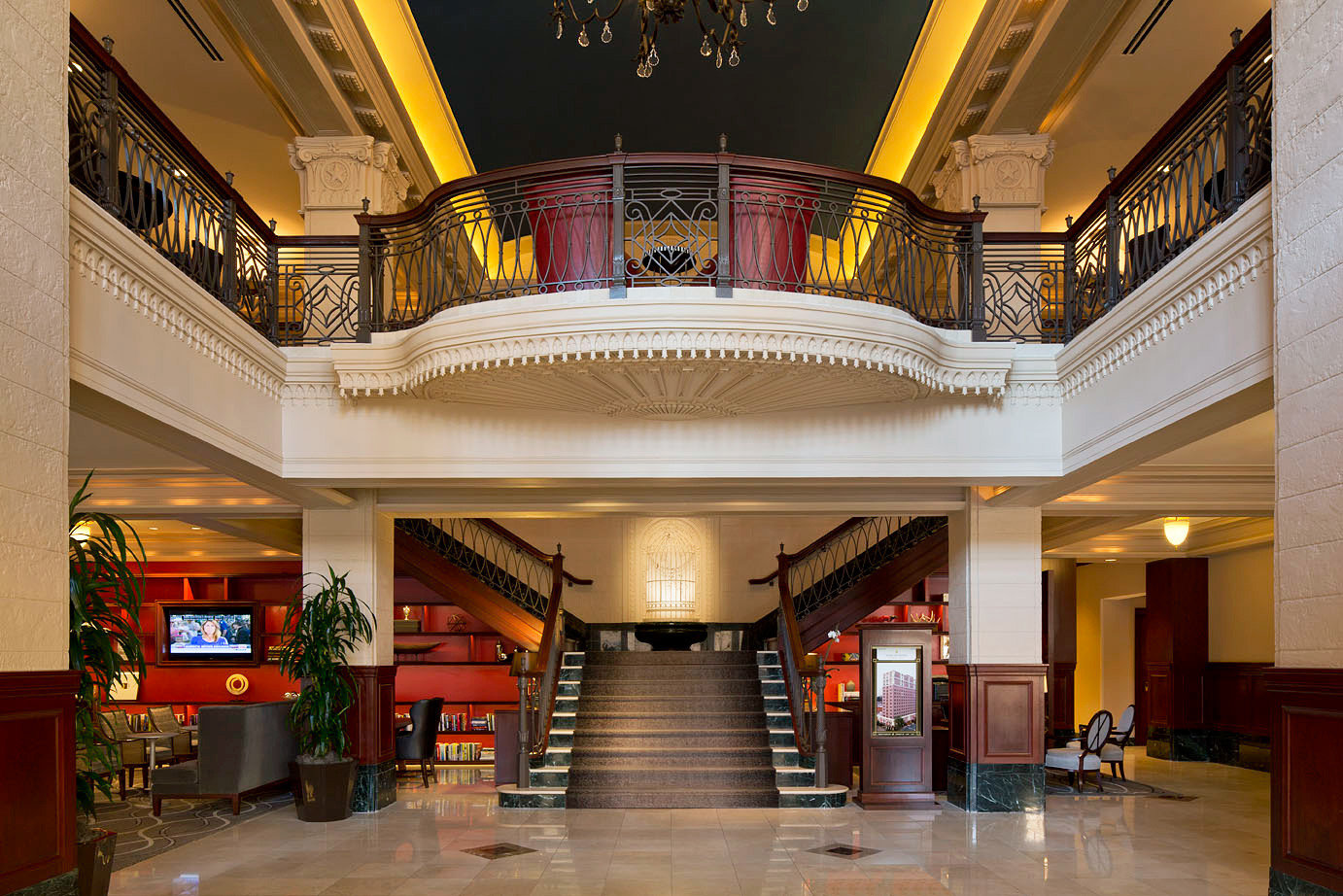 Classic Lobby Lounge Resort building shopping mall hall palace