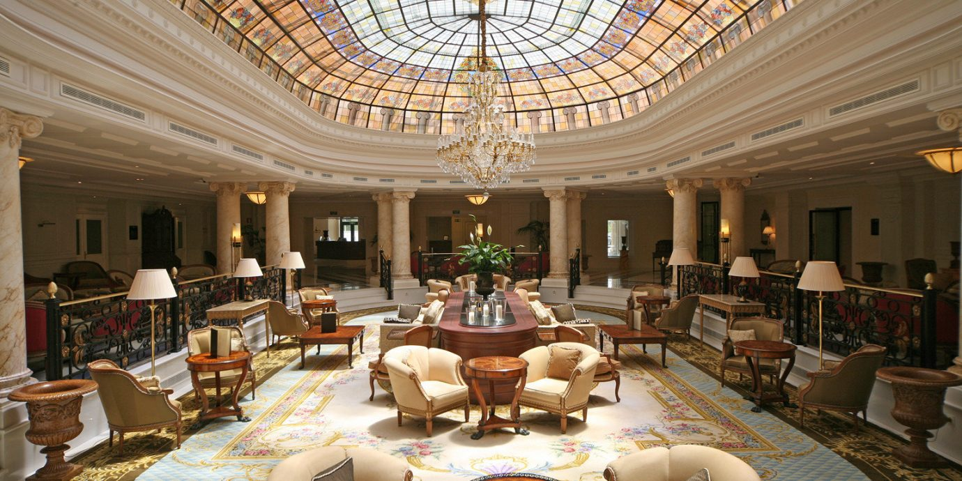 Classic Lobby Luxury function hall palace ballroom mansion living room convention center