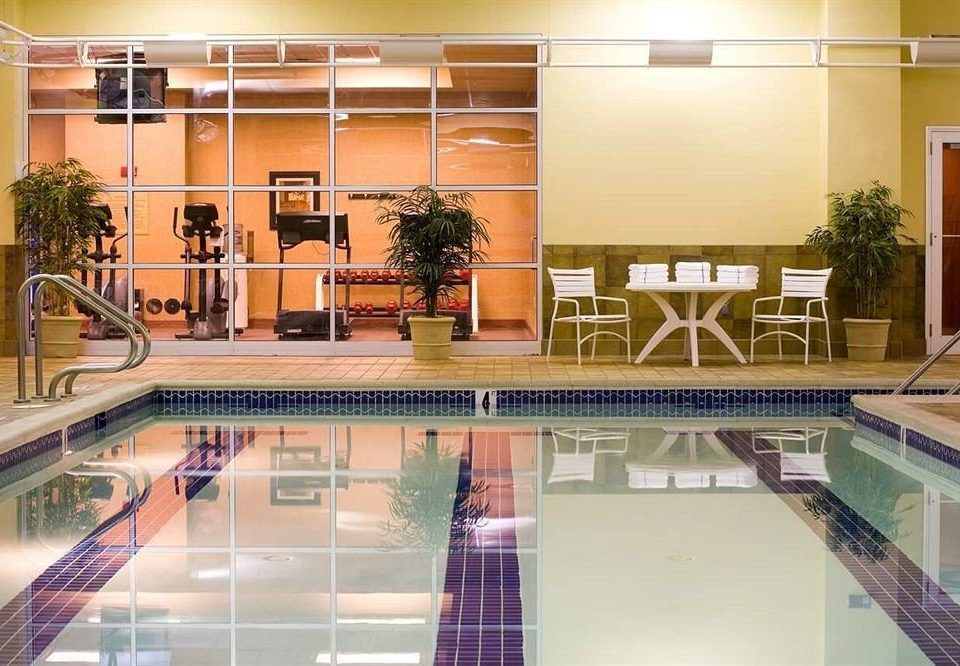 Classic Pool Lobby building property condominium retail shopping mall
